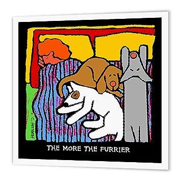 3drose Ht 36691 3 Hunde Bett Cartoon Hunde Hunde Hund Funny