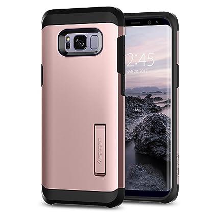 Spigen Tough Armor Designed for Samsung Galaxy S8 Plus Case (2017) - Rose Gold