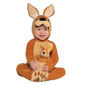 a16838237 Krause & Sohn Disfraz de Canguro para niños Mono marrón con Disfraz de  Animal de Peluche
