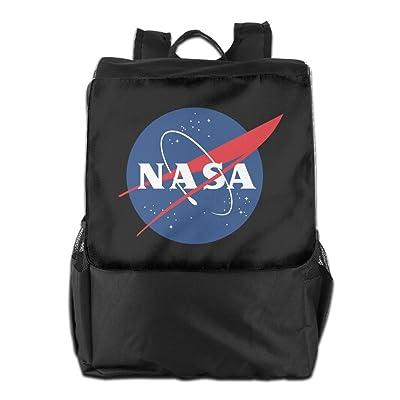 3db238b925f9 durable modeling NASA Logo Outdoor Backpack Travel Bag - drcarranza.com