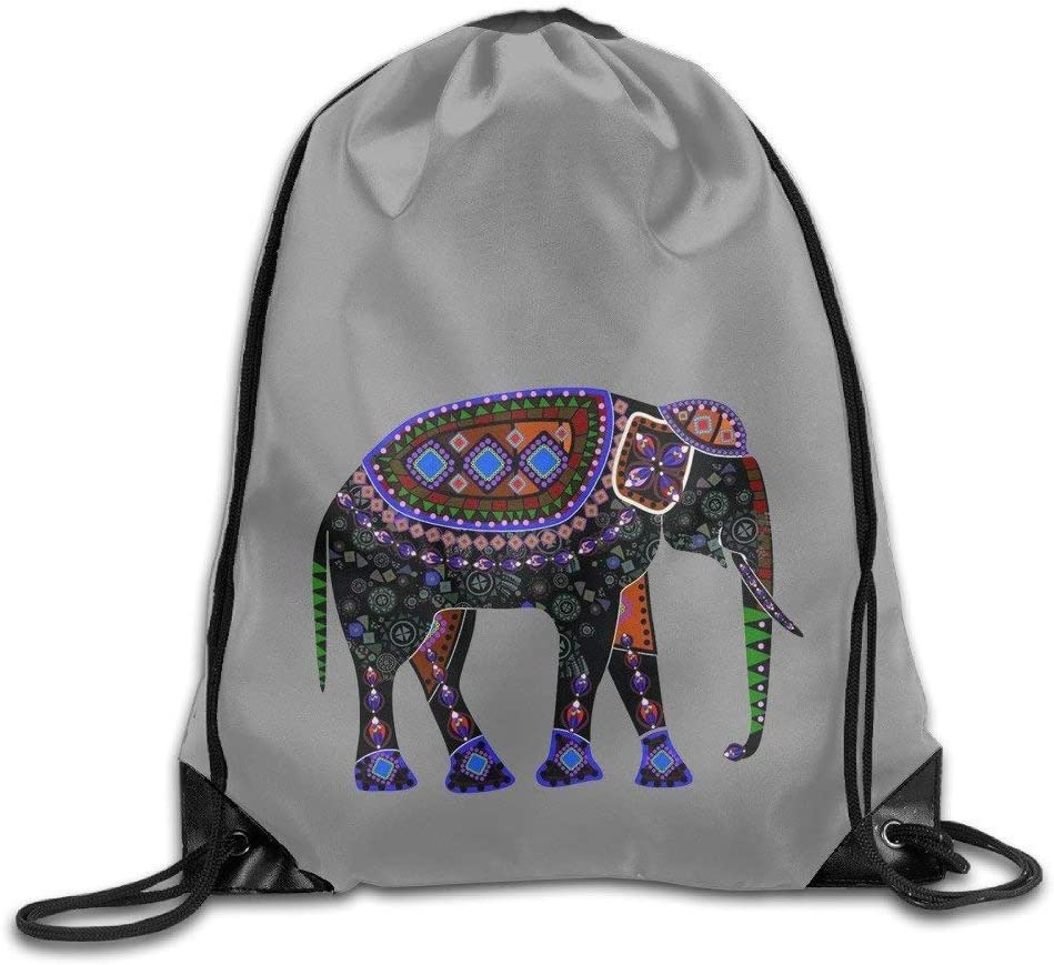 Uykjuykj National Cute Elephant Png Sport Gym Sack Drawstring Backpack Bag Lightweight Unique 17x14 In Amazon Co Uk Sports Outdoors Elephant illustration, african bush elephant asian elephant african forest elephant, elephant, mammal, animals png. amazon co uk