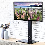 FITUEYES Universal Cantilever TV Stand with Swivel Bracket for 32 to 55 inch LED LCD TV TT106001MB