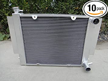 3ROW ALUMINUM RADIATOR FOR MAZDA RX2 RX3 RX4 RX5 69-83 MT S1 S2 WITH HEATER PIPE