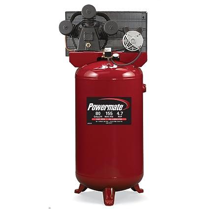 Powermate VX pla4708065 80-gallon eléctrico compresor de aire