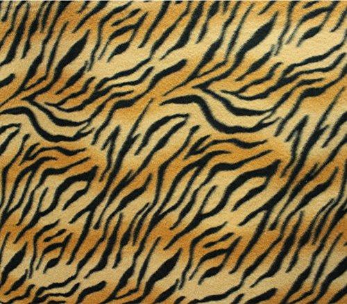 Fleece Fabric Printed ANTI PILL TIGER (Tigers Fleece Fabric)