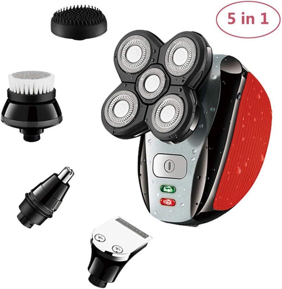 ZHATTEKER Afeitadora eléctrica para Hombres, afeitadora Recargable ...