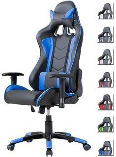 Gaming Slypnos Stuhl Leder Racing Drehstuhl Pu Bürostuhl cSARj354Lq