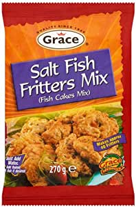 Grace Salt Fish Fritters 270G