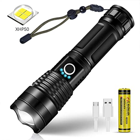 Puissant 7 W UV Light DEL CREE Lampe de Poche Torche 3 mode réglable Focus Zoom Lens