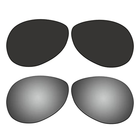 002e47a72c Amazon.com   ACOMPATIBLE 2 Pair Replacement Polarized Lenses for Oakley Tie  Breaker Sunglasses OO4108 Pack P5   Sports   Outdoors