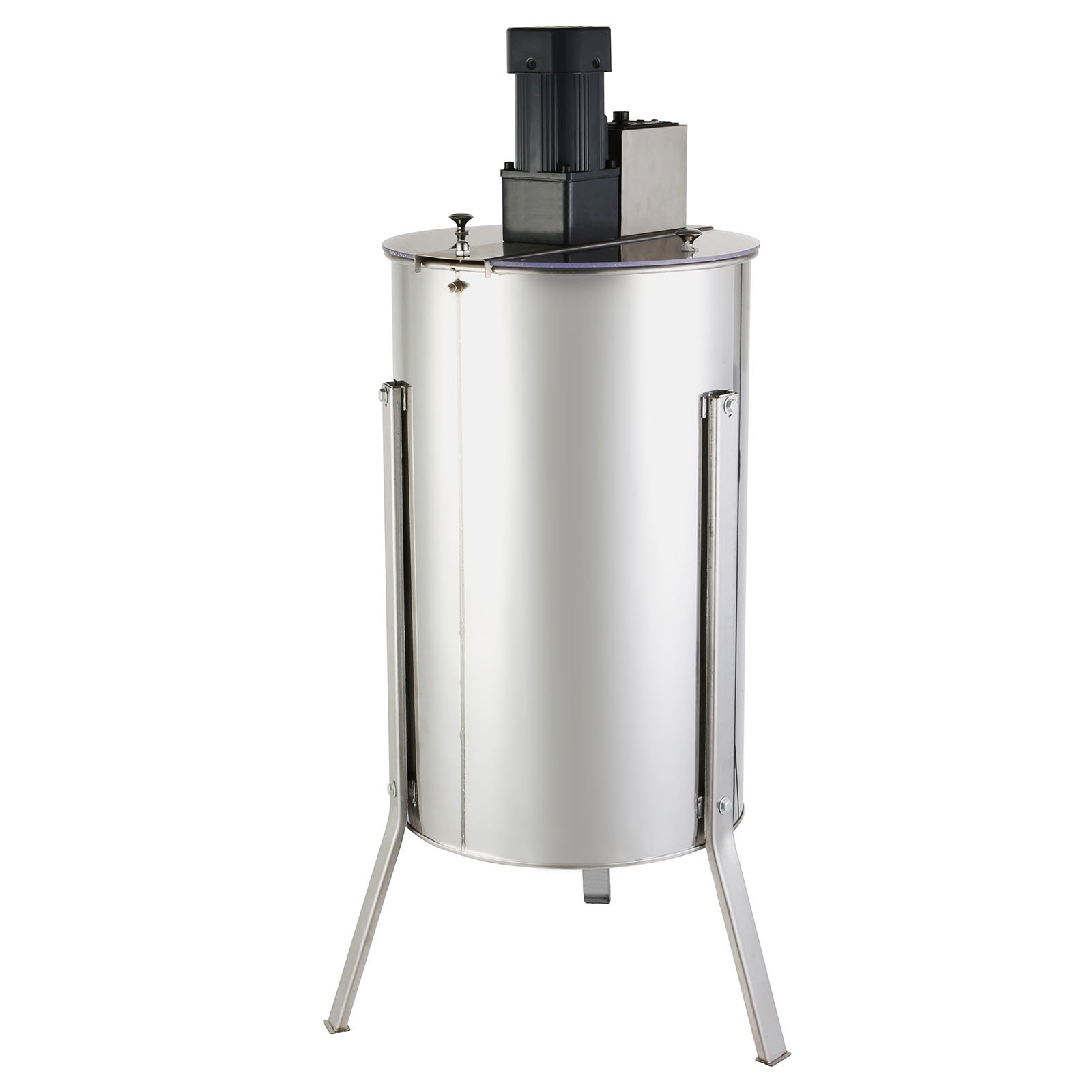 FoodKing Honey Extractor Electric Honey Extractor Honeycomb Spinner 3 Frame Stainless Steel Electric Beekeeping Supply Beehive Processing (3 Frame Electric Honey Extractor)
