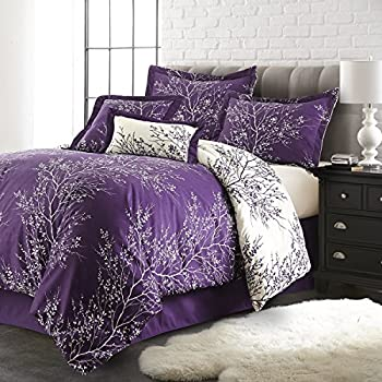 Amazon Com Twilight Bedding Set Black Charcoal Bella