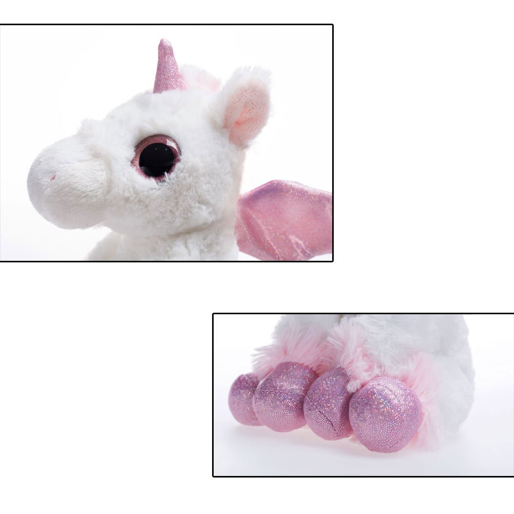WILDREAM Dreamy Eyes Heavenly White Unicorn 7\