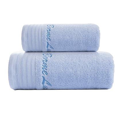 Toallas de baño de algodón Egipcio Premium Toallas Set (Paquete de 2, Toalla de