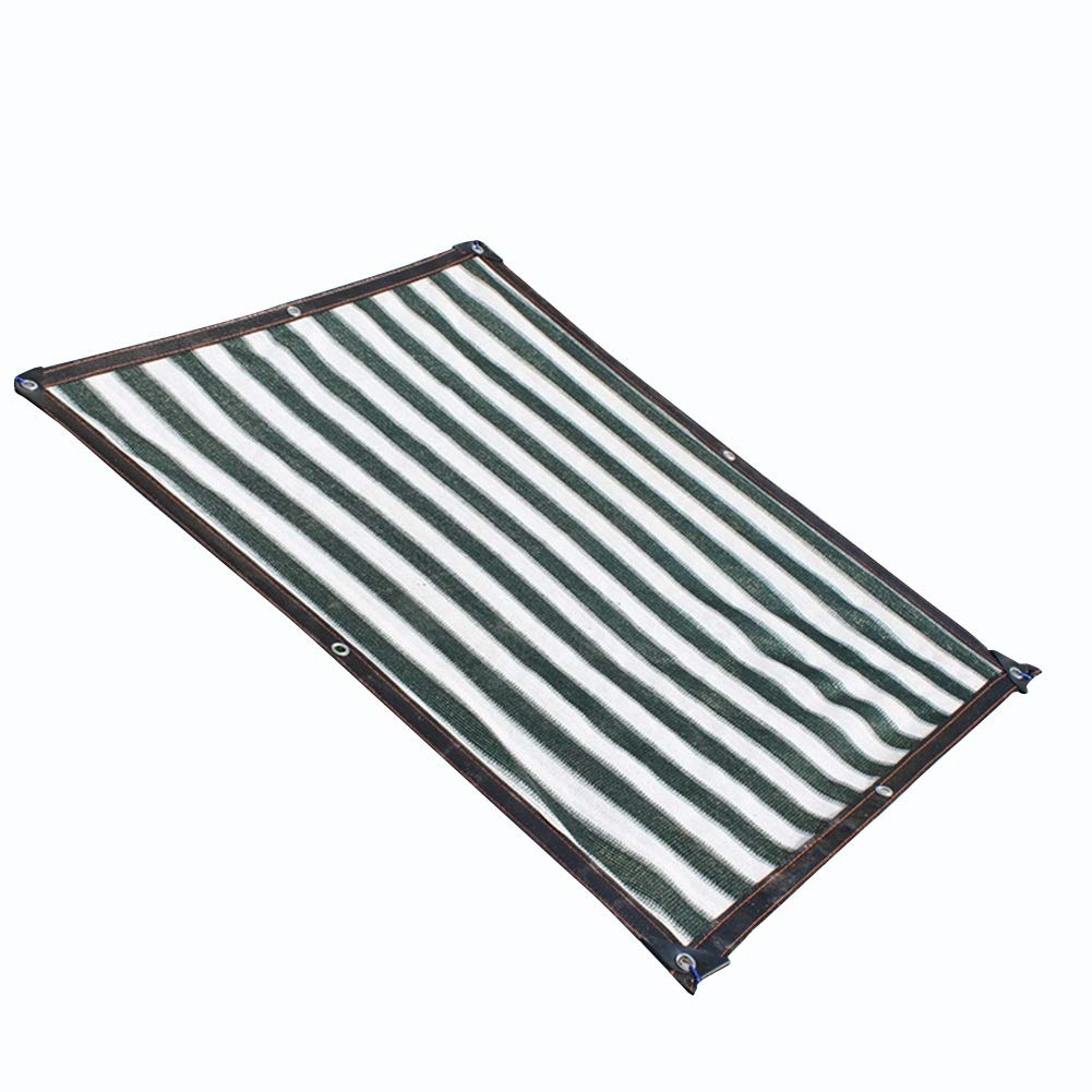 negozio outlet QIANGDA Rete Parasole Tenda A A A Vela Resistente Ai Raggi UV Polietilene Inodoro Rip Stop per Le Piante Patio Lawn, più Dimensioni (Dimensioni   5x8m)  sconto