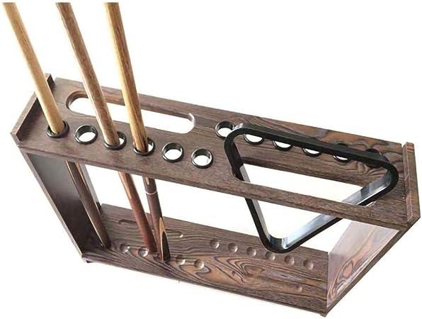 QYM Steg und Ball Rack Haken Snooker Billard Tisch Board Queue Haken Bridge Stick Pool Rack mit 2 Befestigungsschrauben passend f/ür Billardtisch
