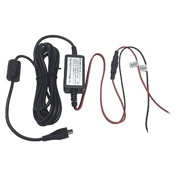Amazon dash cam hardwire kit micro usb 10 foot charger cord dash cam hardwire kit micro usb 10 foot charger cord cable converter regulator kit car charger keyboard keysfo Choice Image