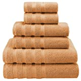 old books in religious - Premium, Luxury Hotel & Spa, 6 Piece Towel Set, Turkish Towels 100% Cotton for Maximum Softness and Absorbency by American Soft Linen, [Worth $72.95] (Malibu Peach)
