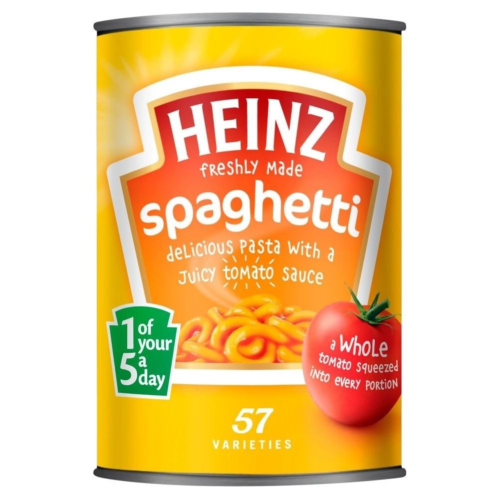 Heinz Spaghetti in Tomato Sauce (400g) - Pack of 2