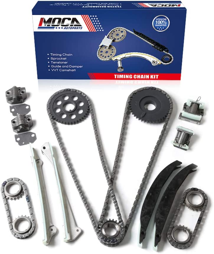 moca engine timing chain kit for 1999 2004 lincoln navigator 2002 lincoln blackwood 5 4l v8 gas dohc 9 0391sc sets kits amazon canada amazon ca