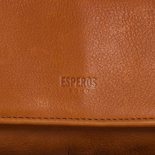 Cross Body The ESPEROS Purse Bag Clutch Tan British PqAtzwv