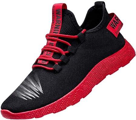 Zapatos Hombre MISSWongg Respirable Malla Zapatillas Deportes Antideslizante Resistente al Desgaste Suela de Goma Zapatos Deportes Shoes de Trekking