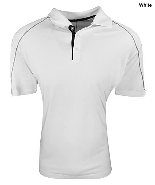 127f8051 Nike Golf Men's Tech Core Color Block Polo WHITE/BLACK//BLACK XL