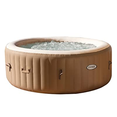 Intex PureSpa Bubble Massage 4-Person Portable Hot Tub