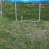 Gardenature Trampoline Galvanized Steel Wind