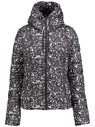 O'neill Colore Black White Donna Aop giacca W Da Nero Viaggio rqCwIFr7x