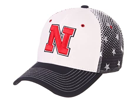 74d36debcd5aa Image Unavailable. Image not available for. Color  Nebraska Cornhuskers  Zephyr Spangled Mesh Back Structured Snapback Hat Cap