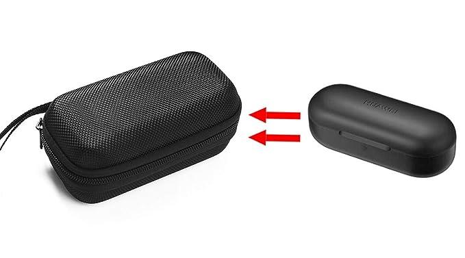 GH GHawk® Huawei Freebuds CM-H1 Estuche para Auriculares Estuche rígido de Viaje Bolsa de Transporte Protectora Caja de Auriculares Auricular Estuche ...