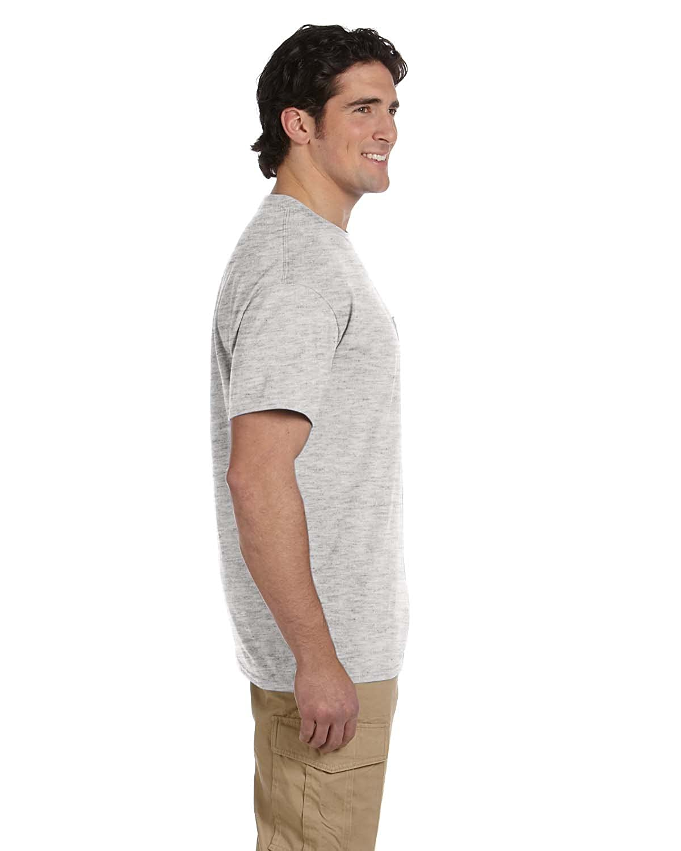 d8d08504 Gildan DryBlend 5.6 oz., 50/50 Pocket T-Shirt, ASH GREY | Amazon.com