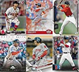 #2: Mookie Betts 6 Card Gift Lot Including his 2018 Diamond Kings Series and 2015 Bowman Rookie Card Plus 4 Other Mint Cards of this Red Sox picturing Him in His Red, Grey and White Jerseys
