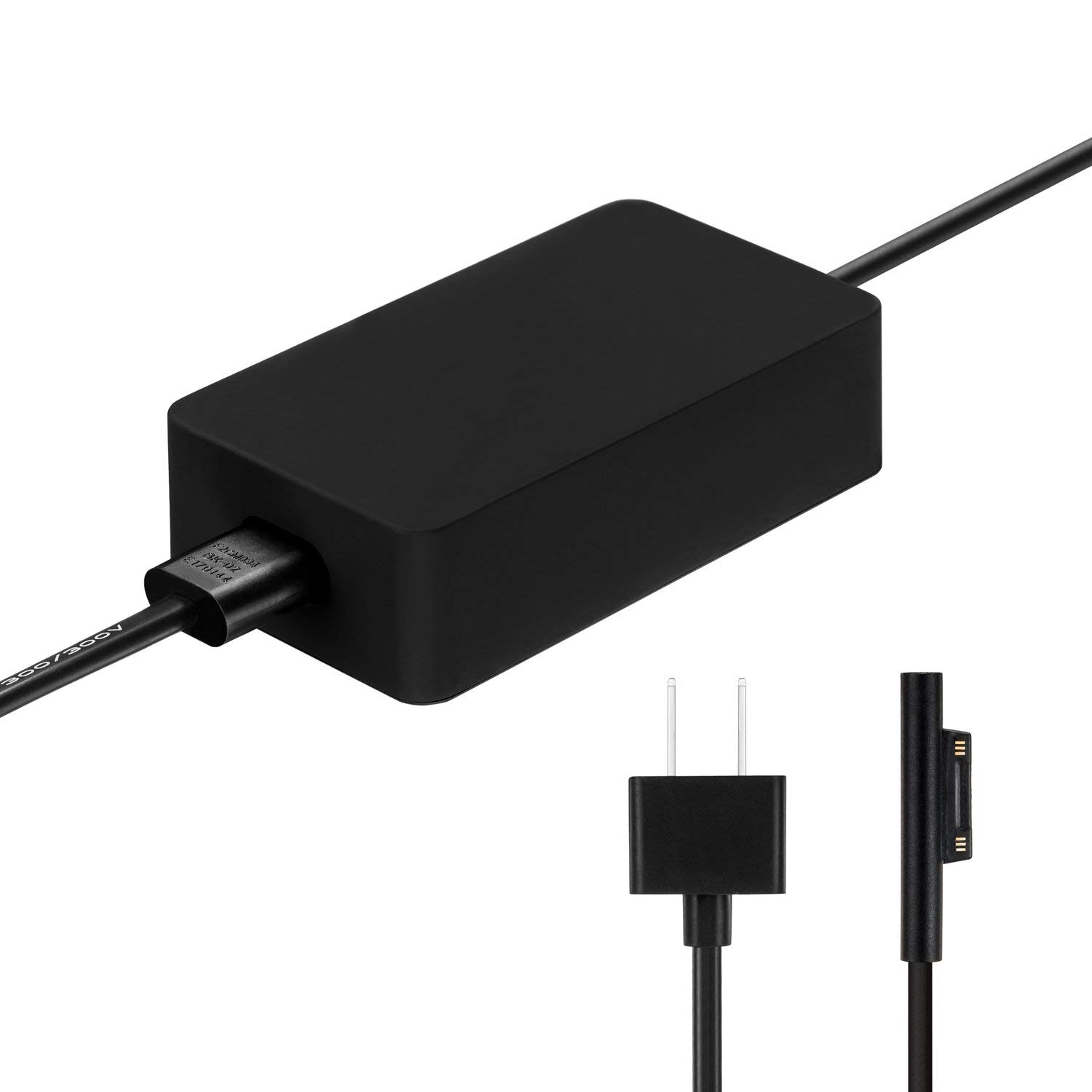 Egoway 65W 15V 4A AC Power Adapter Charger for Microsoft Surface Book Pro 3 Pro 4 Pro 5 with USB Charging Port 6 Ft Power Cord