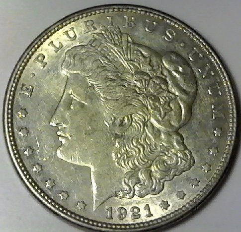 1921 D Silver Morgan Dollar XF Extremely Fine