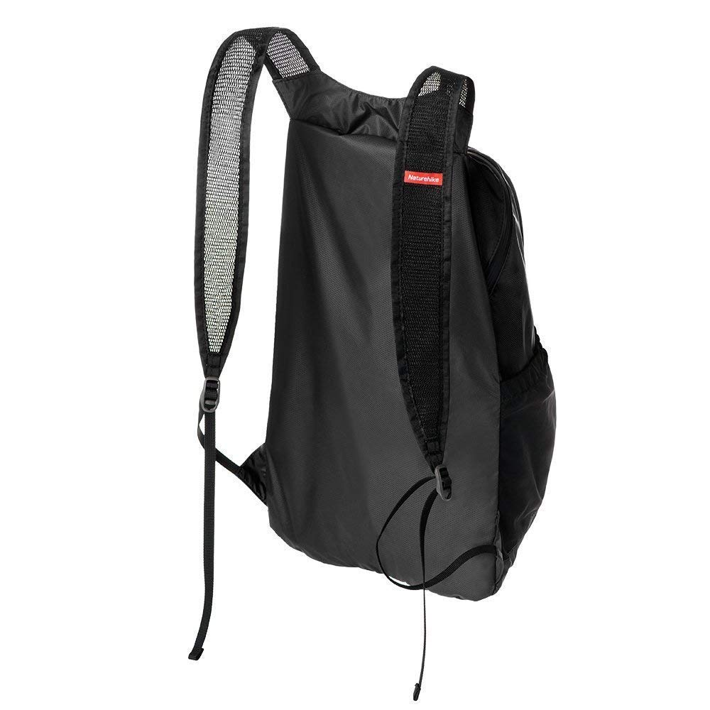 Naturehike 18L Ultralight Collapsible Backpack (Black) by Naturehike (Image #3)
