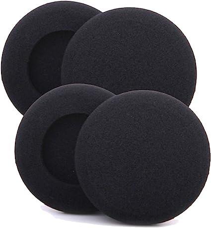 50mm Ear Pads Replacement Foam Cushion Sponge Cover Headset Headphones Earphones