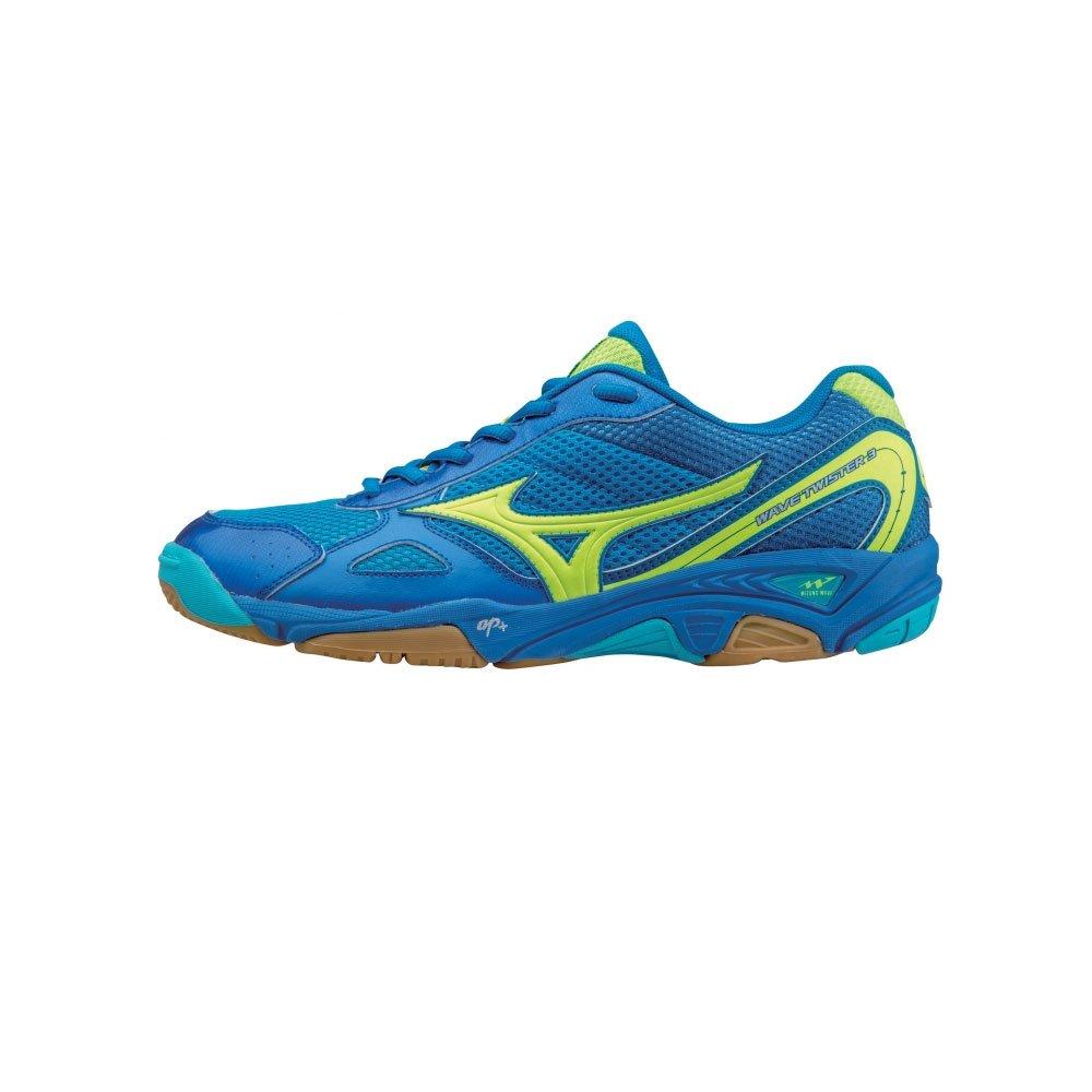 Mizuno Ondulado Twister 3 Zapatos De Salón - SS15 - Azul, Hombre ...