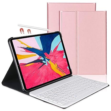 OYOSUOGG iPad Pro 11 Keyboard Case 2018 - Lightweight - Auto Sleep/Wake - Slim