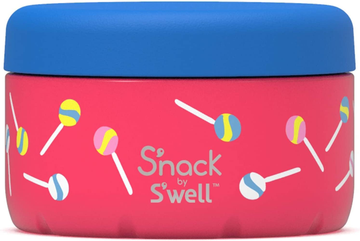 S'well Stainless Steel Container-10 Oz-Lollipos Double-Layered Insulated Bowls Keep Food and Drinks Cold and Hot - BPA-Free Water Bottle, 10oz, Lollipop