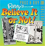 Ripley's Believe It Or Not! 2009 Page-A-Day Calendar