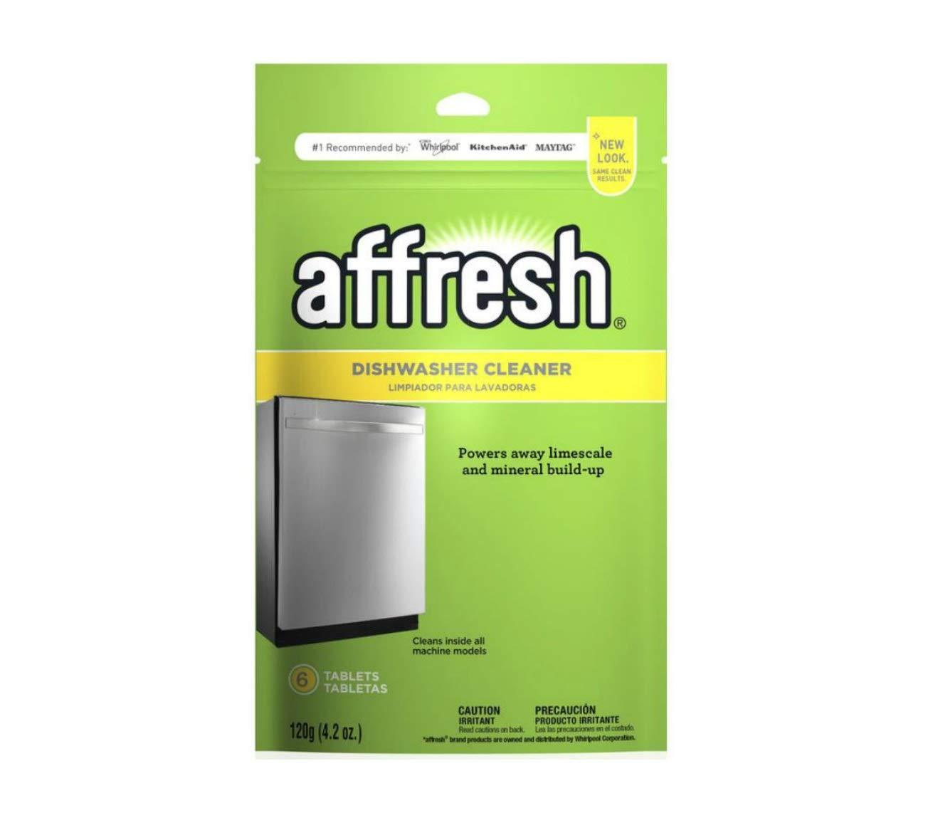 Affresh Dishwasher Cleaner, 6 Tablets (3 Pack)
