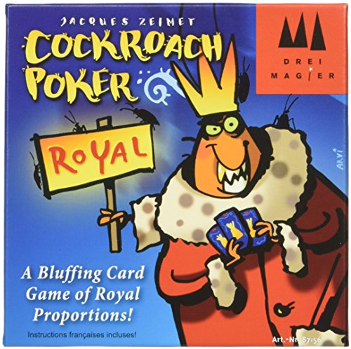 Schmidt Cockroach Poker Royal Bluffing Card Game,, -