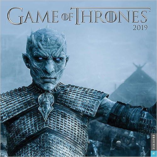 Game Of Thrones 2019 Wall Calendar por Hbo