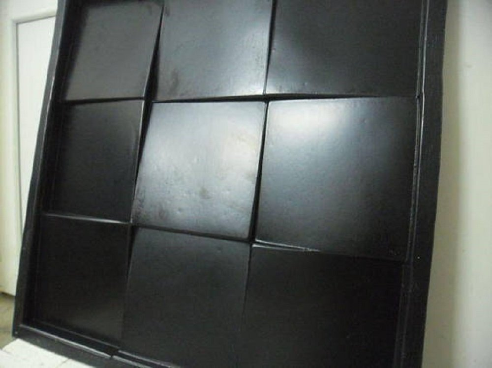 Plastic mold for 3d decor wall panels #103, for plaster (gypsum) or concrete
