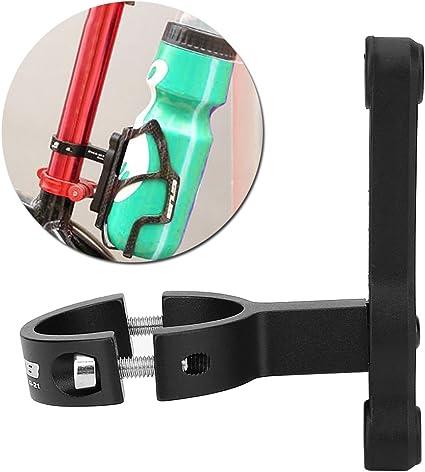 Sport Bike Bicycle Water Bottle Cage Holder Clamp Clip Handlebar Bracket Mount