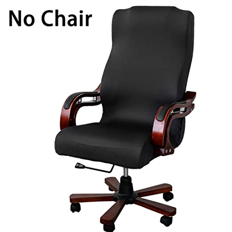 Excellent Btsky Office Chair Covers Removable Stretch Cushion Slipcovers Stretchy For Computer Chair High Back Chair Chair Boss Chair Rotating Chair Executive Uwap Interior Chair Design Uwaporg