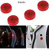 Aviso de puerta de coche abierta con luz roja estroboscópica intermitente LED para abrirlas con seguridad.Luces LED…
