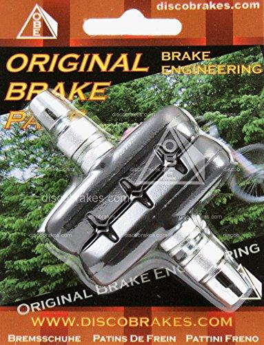 Performance V-brake Pads (V Brake Pads Suitable For Shimano SRAM Avid Tektro Diacomp, Length: 55mm, Bike by DiscoBrakes)
